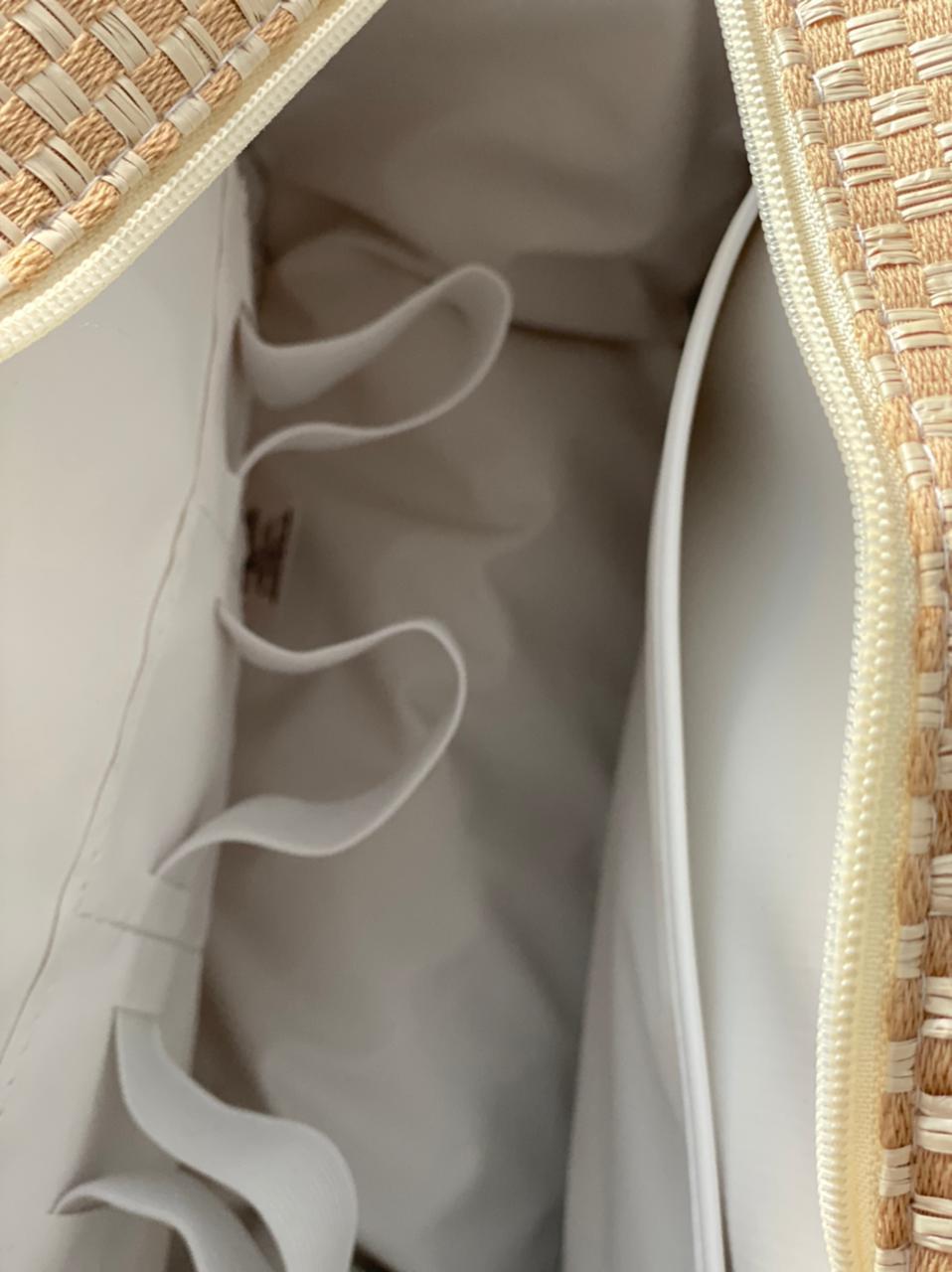 Bolsa Pequena - Linho Palha Layla
