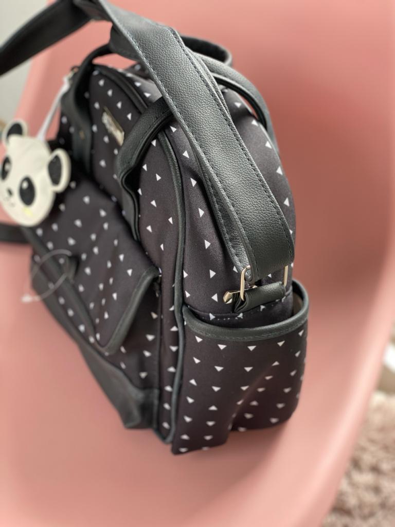 Bolsa Pequena -  Panda Preto