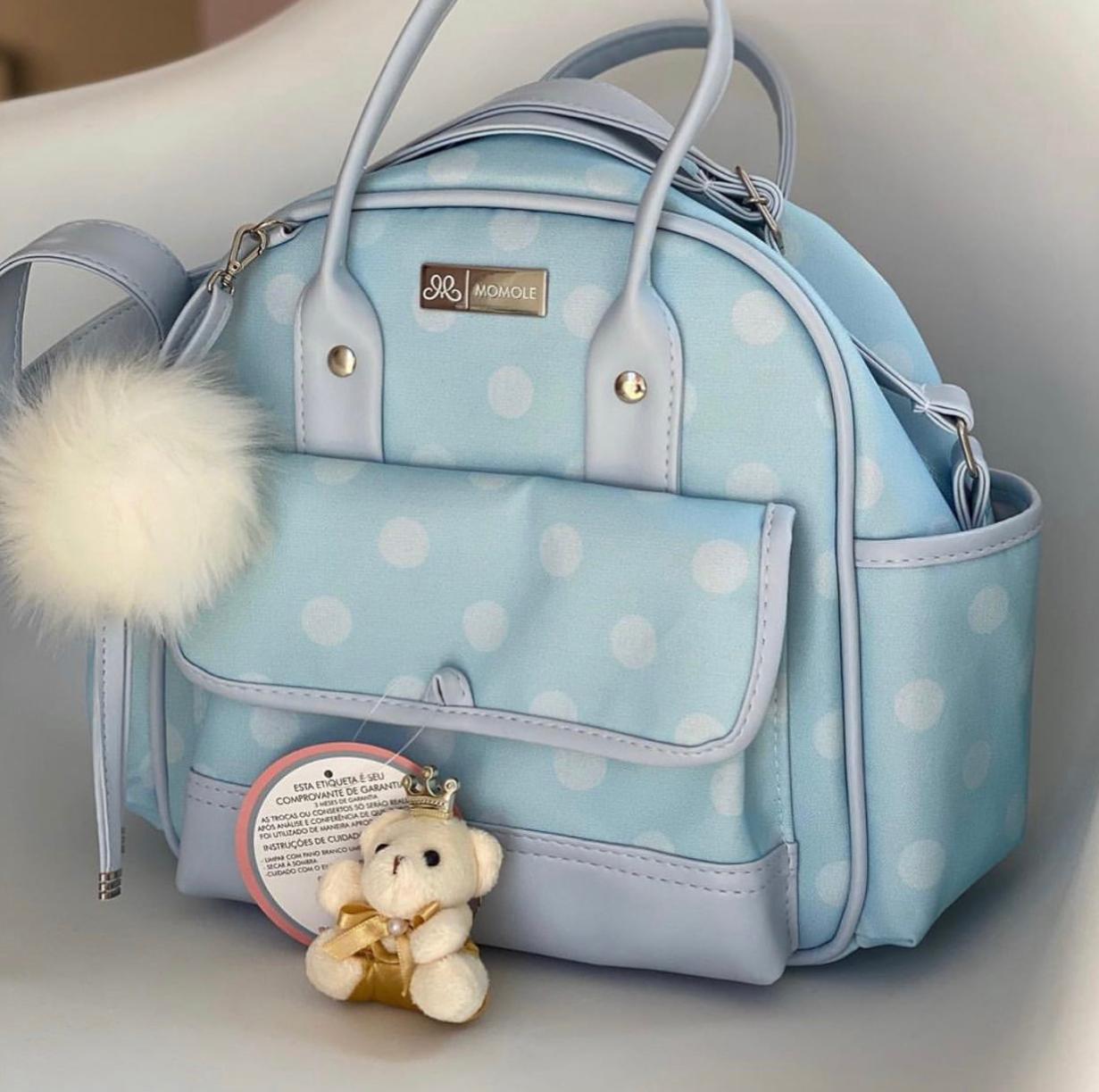 Bolsa Pequena -   Poá Azul
