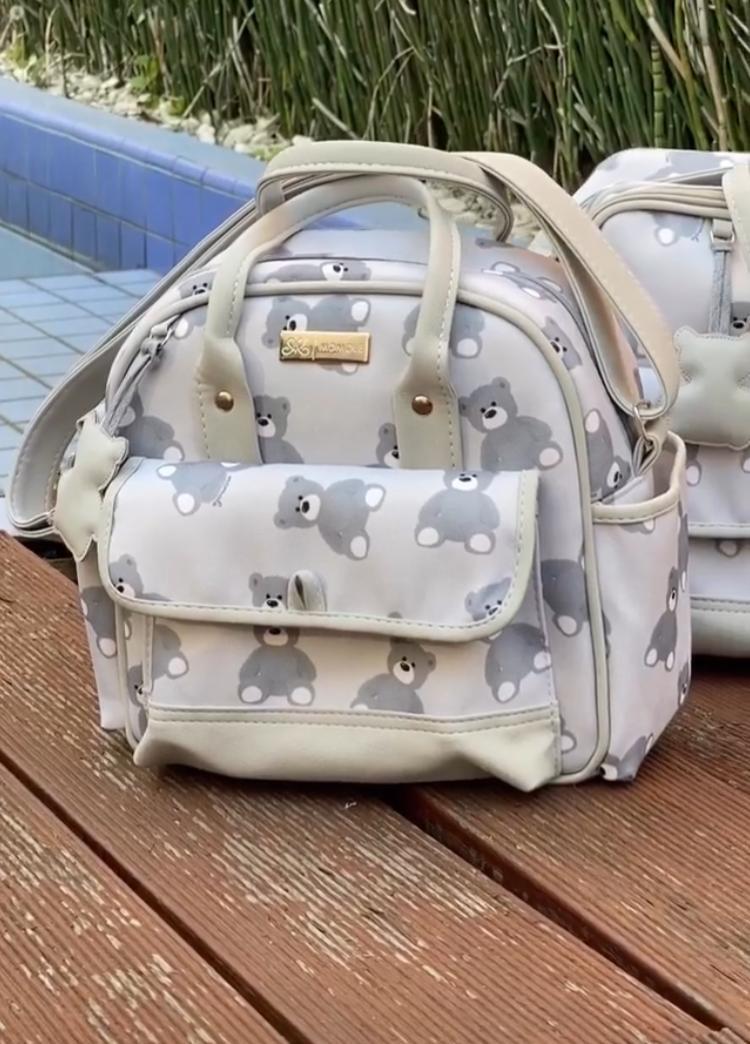 Bolsa Pequena -  Ternura Cinza