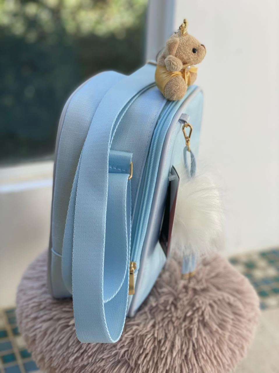 Frasqueira -  Azul Bebê Layla