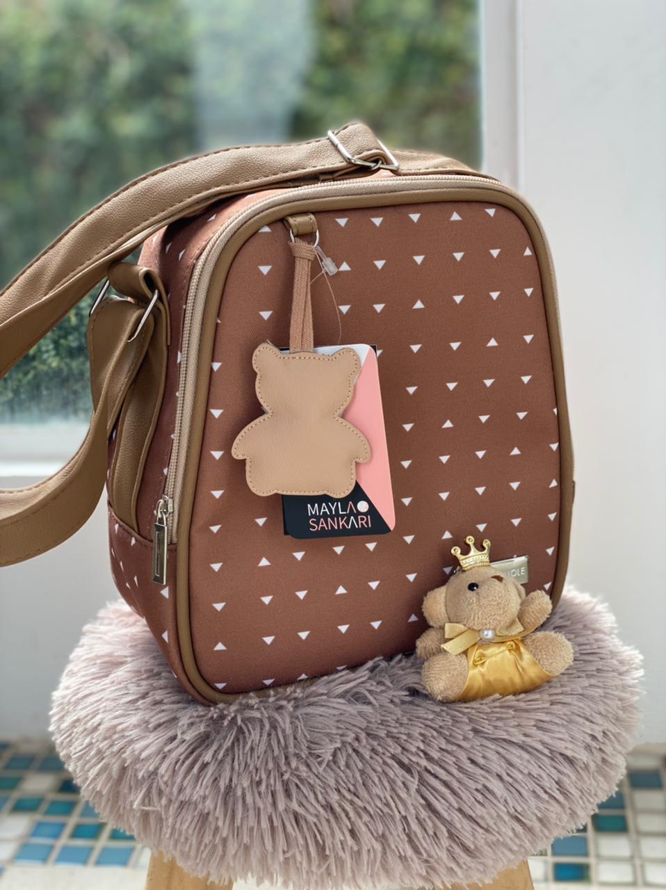 Frasqueira - Urso Caramelo