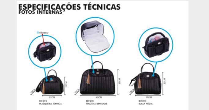 Kit 3 Bolsas - Ternura Rosa