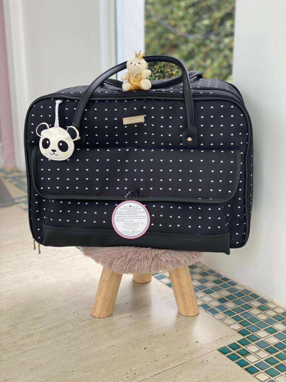 Mala Maternidade -  Panda Preto