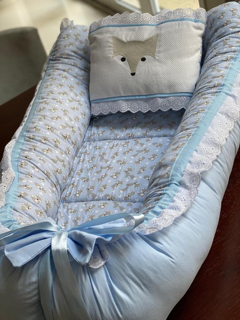 Ninho-  Raposa com Azul Liso