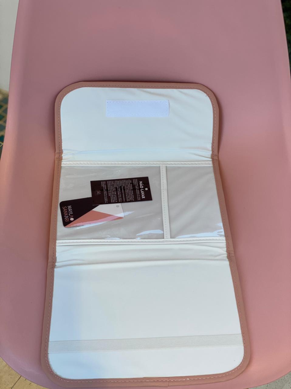 Porta Documentos Vacina - Ternura Rosa