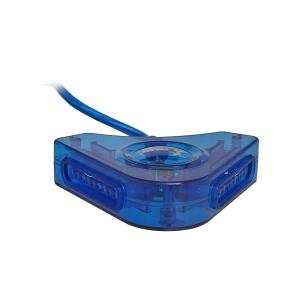 ADAPTADOR 2 ENTRADA PS2 X USB KNUP KP-3454