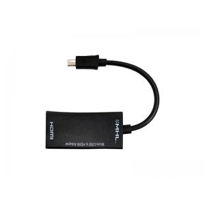 ADAPTADOR CONVERSOR MICRO USB V8 HDMI EXBOM COD. 01139