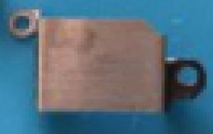 BLINDAGEM CAMERA TRASEIRA IPHONE 6S ORIGINAL RETIRADA