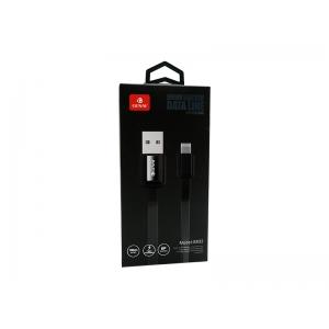 CABO DE DADOS COURO BOX IPHONE 5/6/7/8/X GENAI S832