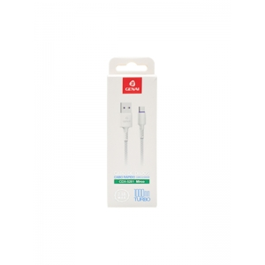 CABO DE DADOS MICRO USB V8 1M 2.1A GENAI CDX-5261