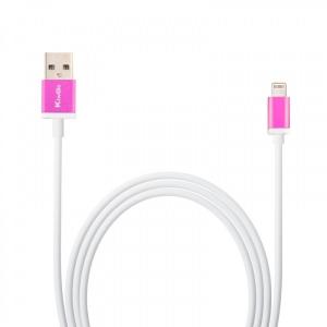 CABO DE DADOS USB IPHONE 5 METALICO - KINGO