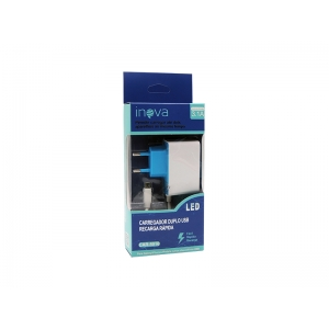 CARREGADOR PAREDE INOVA MICRO USB CAR 372 USB 3.1A