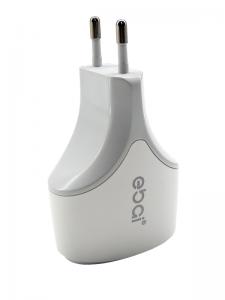 CARREGADOR PAREDE KIT 2.1A 2USB + CABO V8/MICRO USB EBAI CDZ-B1011