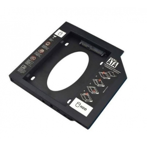 CASE PARA HD SSD KNUP CADDY ADAPTADOR SATA 12.7MM KP-HD022