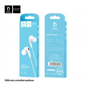 FONE DE OUVIDO EARPHONE WIRED P2 DENMEN DR06
