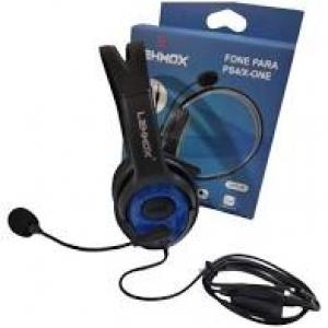 FONE DE OUVIDO PS4 XBOX ONE CELULAR P2 HEADSET LEHMOX LEY-35