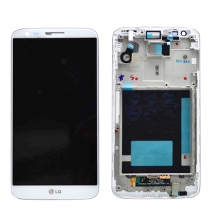 FRONTAL TELA TOUCH LCD DISPLAY LG D805 LG G2  BRANCO