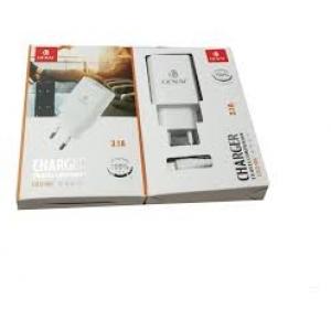 KIT CARREGADOR COMPLETO 3.1A CABO MAIS FONTE TIPO C GENAI CDZ-5017