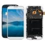 TELA DISPLAY SAMSUNG GALAXY S4 I9505 I9500 I337 PRETO COM BRILHO