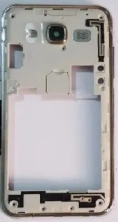 ARO CARCACA SAMSUNG GALAXY J5 J500 PRATA RETIRADA