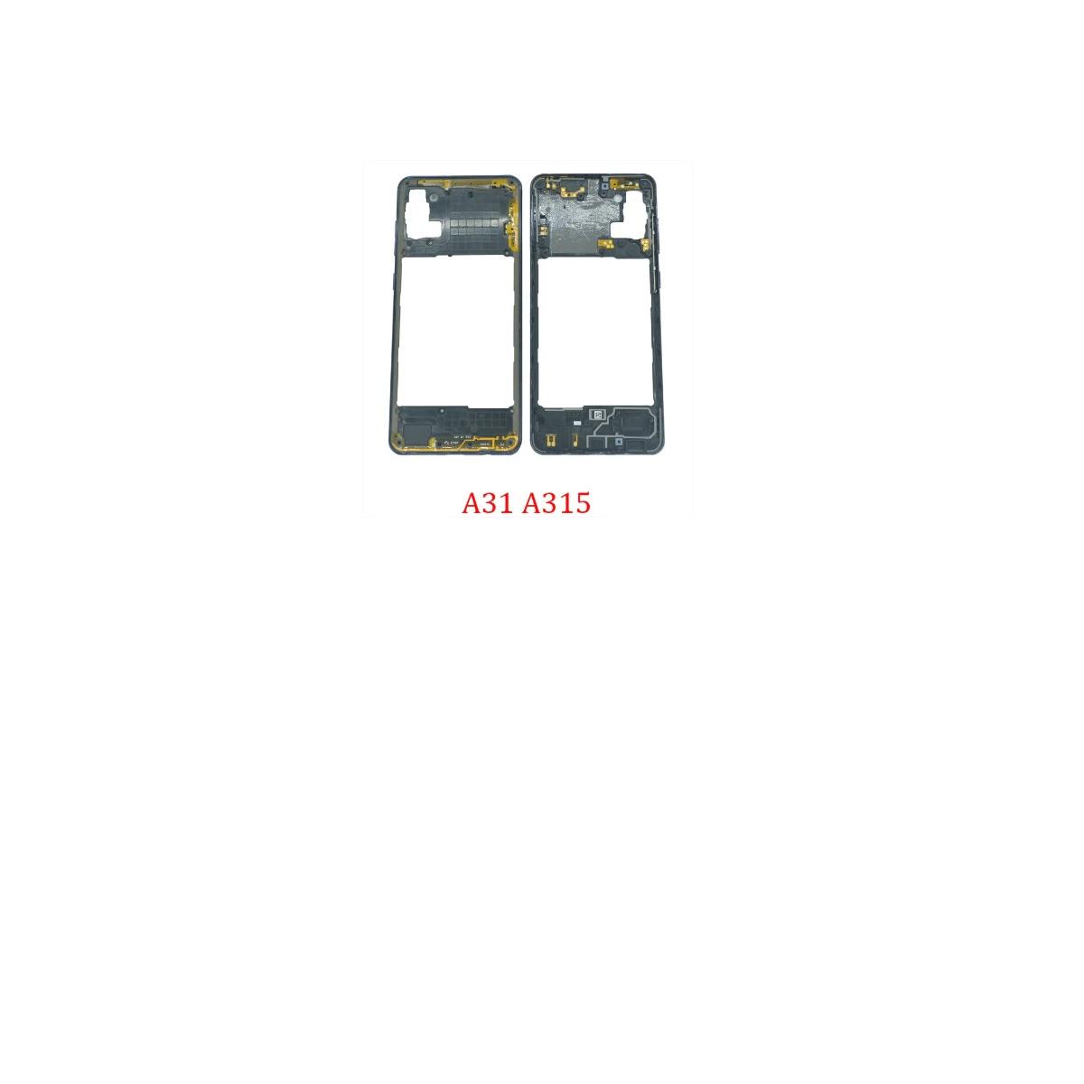 ARO LATERAL FRAME TRASEIRO SAMSUNG GALAXY A31 SM-A315 PRETO RETIRADA