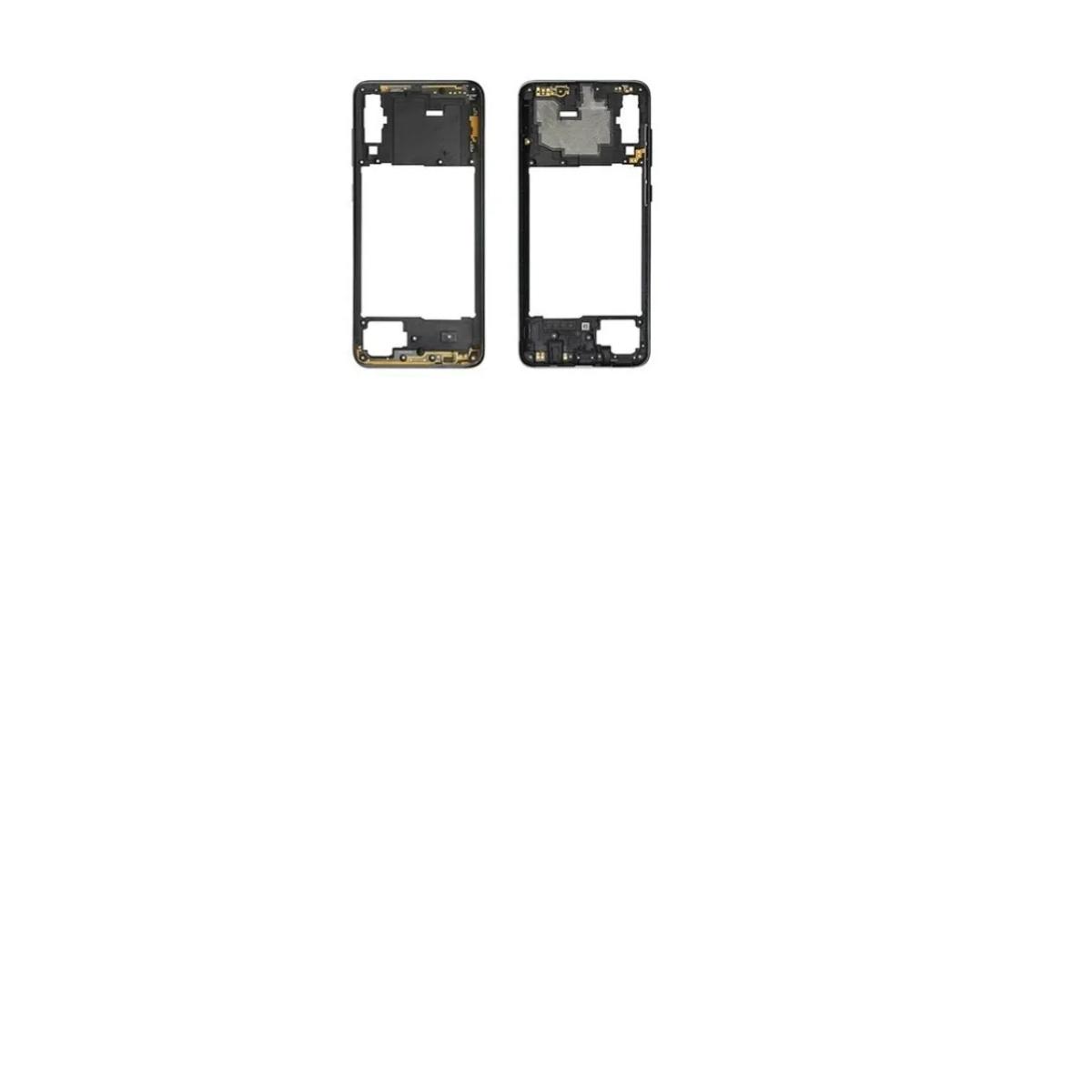 ARO LATERAL FRAME TRASEIRO SAMSUNG GALAXY A70 SM-A705 PRETO