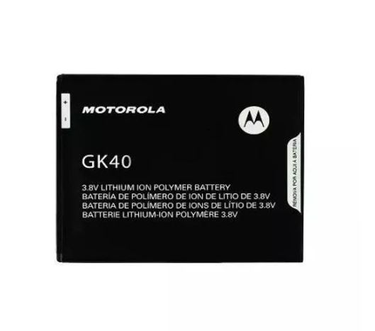 BATERIA MOTO GK40 MOTO E4 G4 PLAY G5 RETIRADA