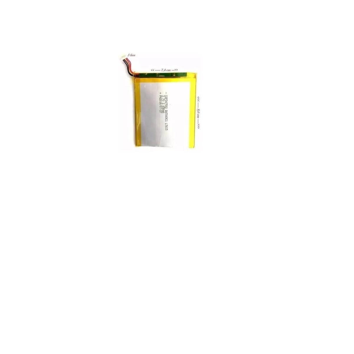 BATERIA TABLET DL TX384PIN 5 FIOS 2650MAH RETIRADA
