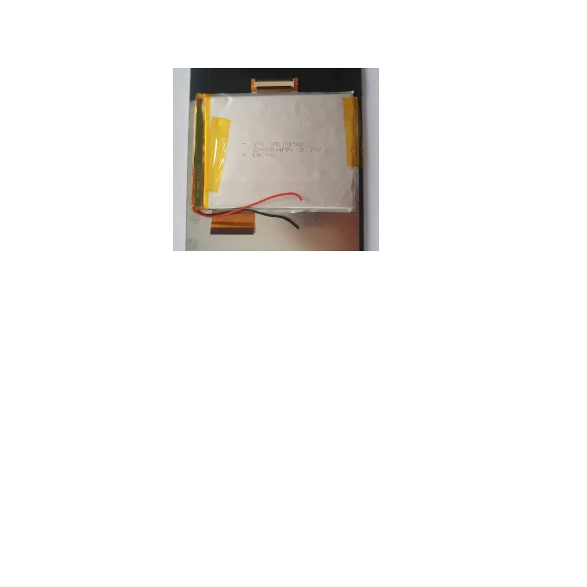 BATERIA TABLET HOW MAX QUAD A0011 RETIRADA