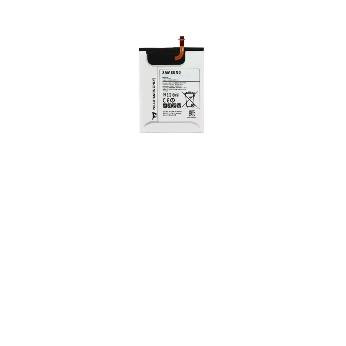 BATERIA TABLET SAMSUNG GALAXY TAB 7.0 T280 EB-T280ABE RETIRADA