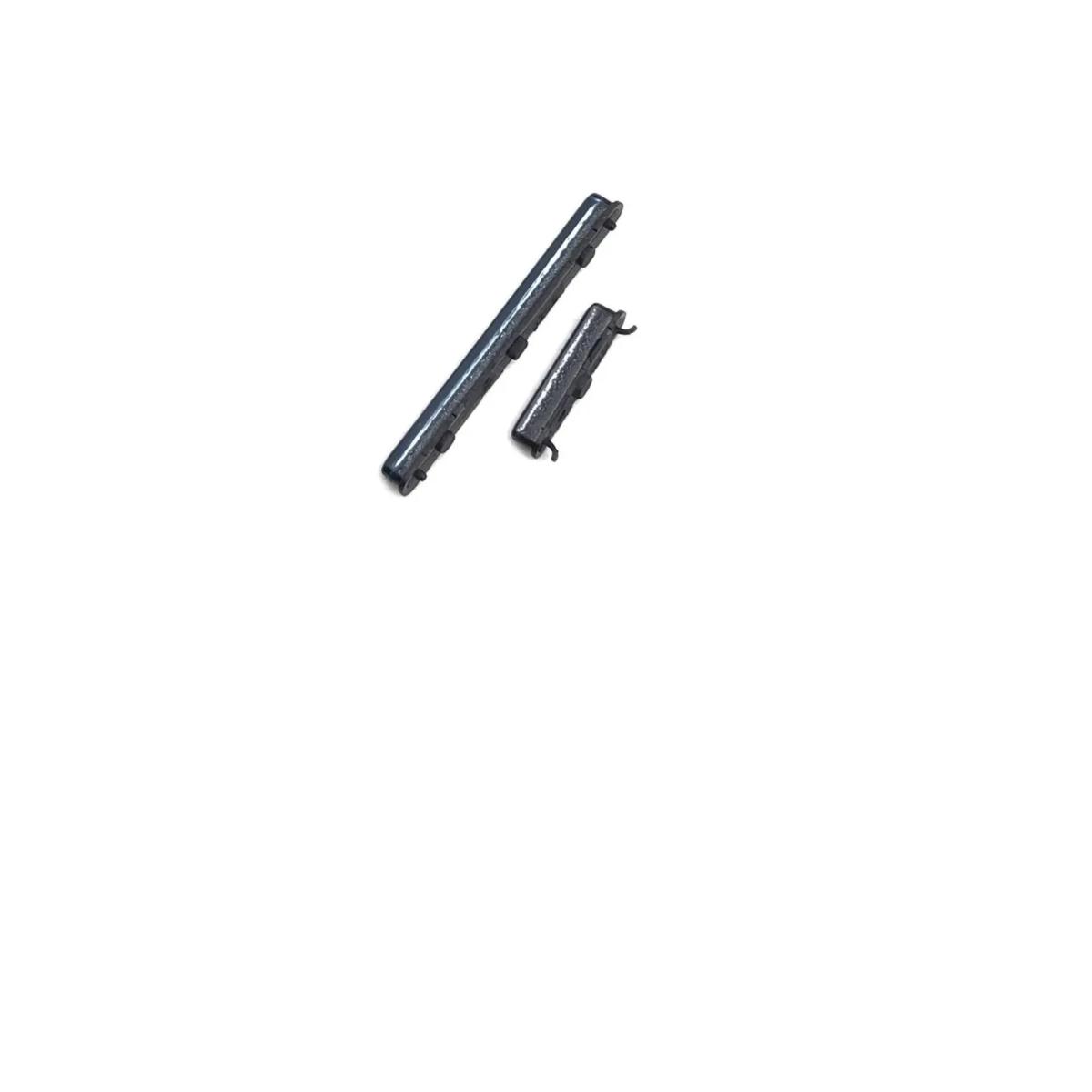 BOTAO POWER VOLUME EXTERNO KIT SAMSUNG GALAXY A31 SM-A315 PRETO RETIRADA