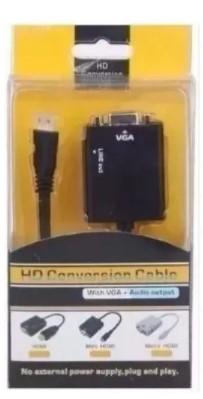 CABO ADAPTADOR HDMI PARA VGA HD CONVERSION CABLE HDVG2