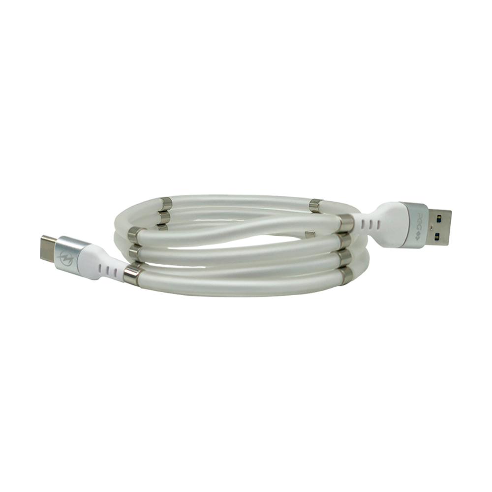 CABO DE DADOS MAGNETICO SUPER CALLA TIPO C USB 2.4A 1M PEG CB-196