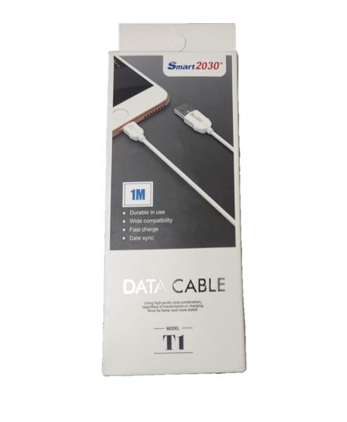 CABO DE DADOS MICRO USB V8 1M SMART 2030 T1