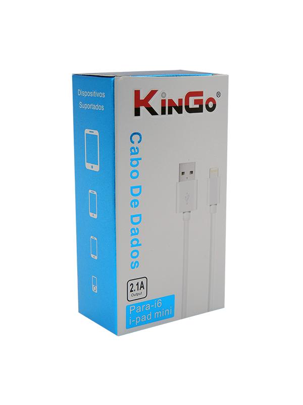 CABO DE DADOS USB IPHONE 5 - KINGO