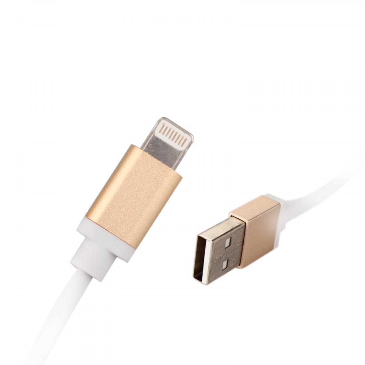 CABO DE DADOS USB V8 METALICO - KINGO