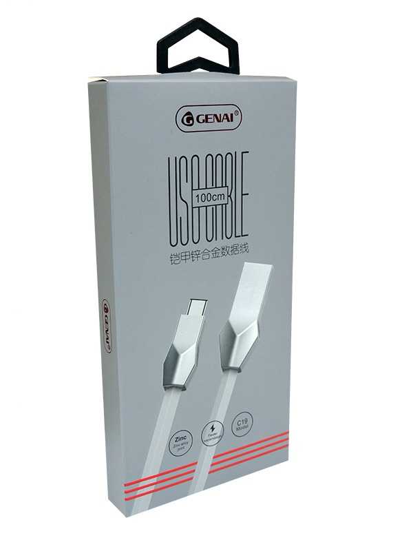 CABO DE DADOS ZINC BOX TIPO C GENAI C19