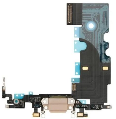 CABO FLEX CONECTOR DOCK CARGA USB APPLE IPHONE 8 A1863 ROSA RETIRADA
