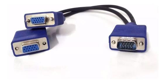 CABO PARA MONITOR DE COMPUTADOR VGA 2X1 VGA