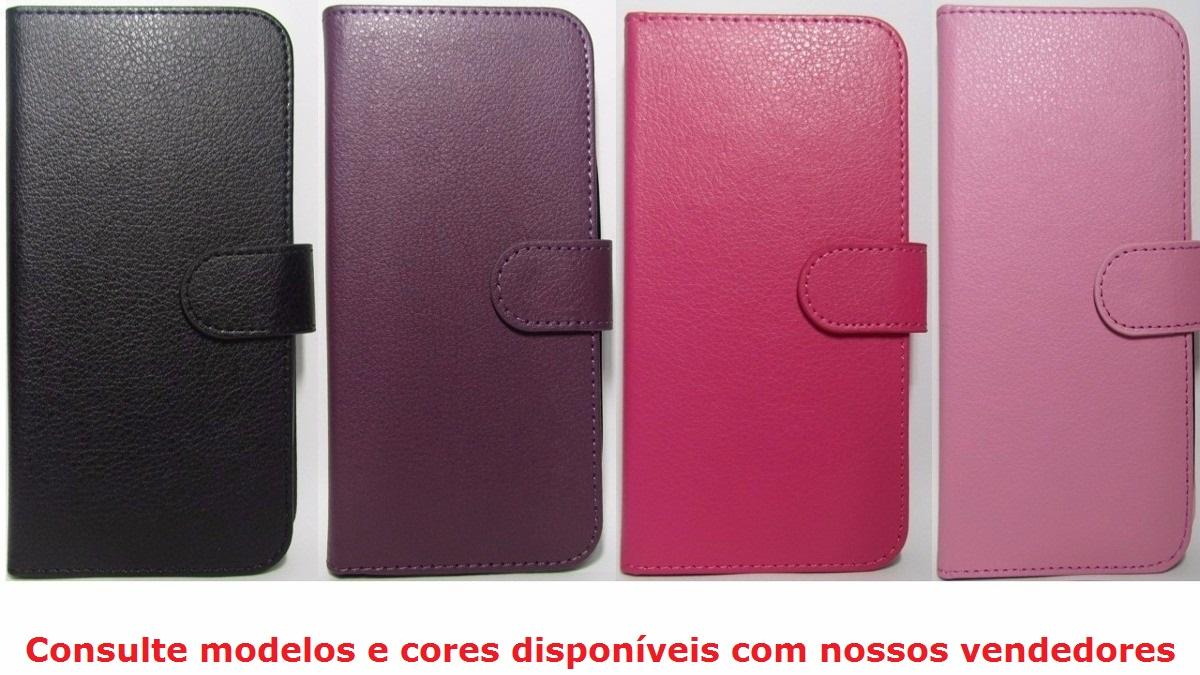 CAPA CARTEIRA MICROSOFT/NOKIA LUMIA N640XL - COLORIDA