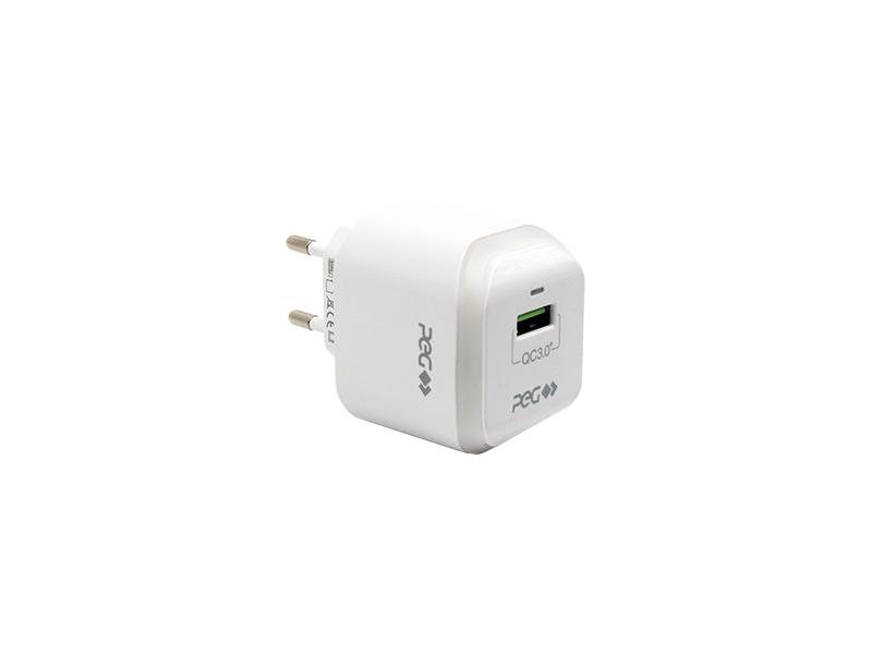 CARREGADOR FONTE USB 3.1A 3.0 QC PEG PC359Y