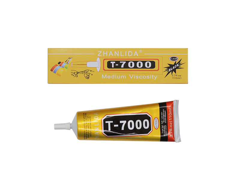 COLA T7000 BLACK PRETA PROFISSIONAL PARA TOUCH DISPLAY 110ML