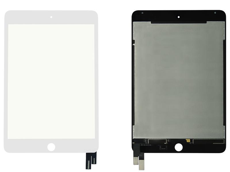 DISPLAY LCD IPAD MINI 4 BRANCO FRONTAL COMPLETA