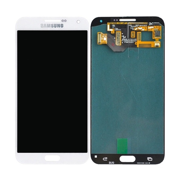 DISPLAY LCD SAMSUNG E700 GALAXY E7 BRANCO COM BRILHO