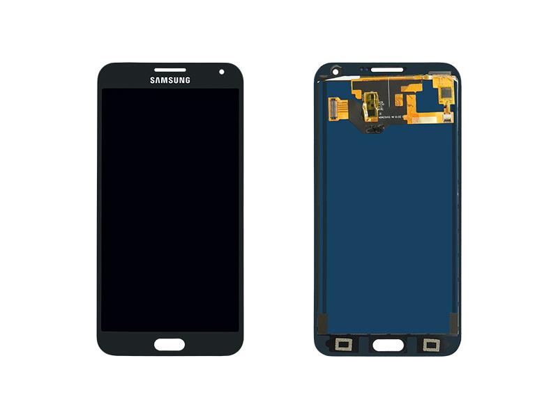 DISPLAY LCD SAMSUNG E700 GALAXY E7 PRETO COM BRILHO