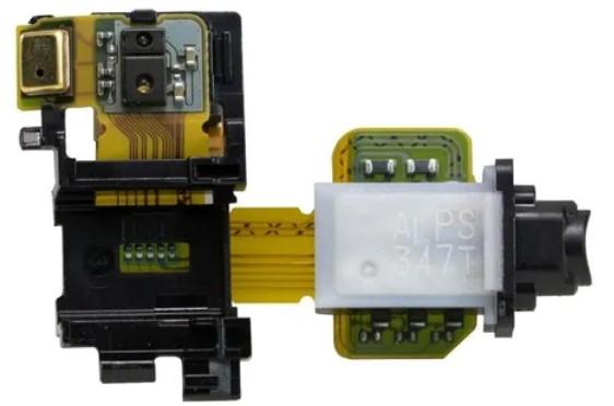 FLEX CONECTOR FONE P2 MICROFONE SONY XPERIA Z3 D6633 RETIRADA