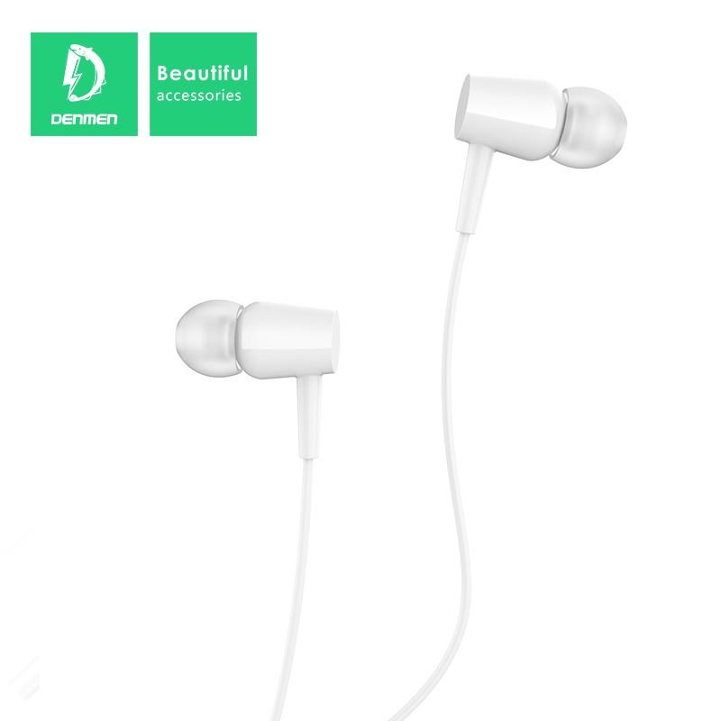 FONE DE OUVIDO EARPHONE WIRED P2 DENMEN DR02 PEG