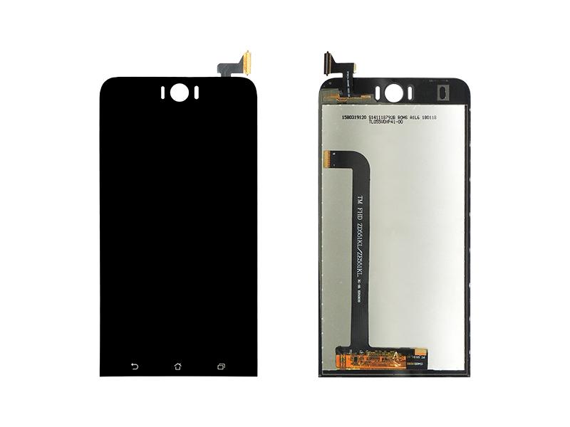 FRONTAL TELA TOUCH LCD DISPLAY ASUS ZENFONE SELFIE ZD551KL COM ARO ORIGINAL RETIRADO