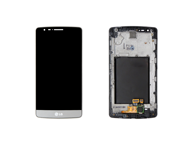 FRONTAL TELA TOUCH LCD DISPLAY LG G3 MINI D724/D725 GRAFITE